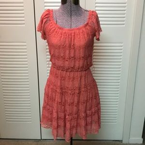 Sequin hearts dress size small